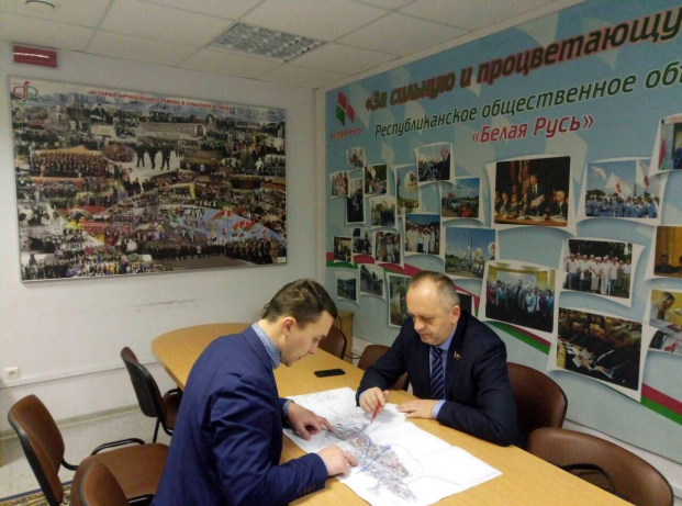 Обсуждение с гражданами градостроительного плана развития территории округа 19.03.2020