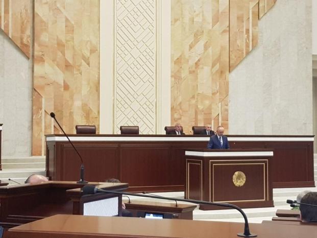 Заседании первой сессии Палаты представителей седьмого созыва 19.12.2019