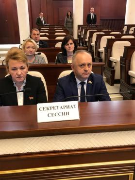 Работа в секретариате второй сессии Палаты представителей